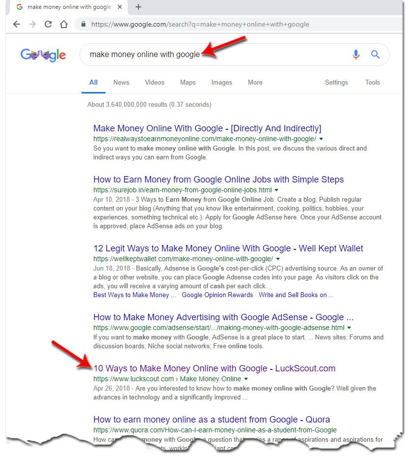 Ranked #5 on Google