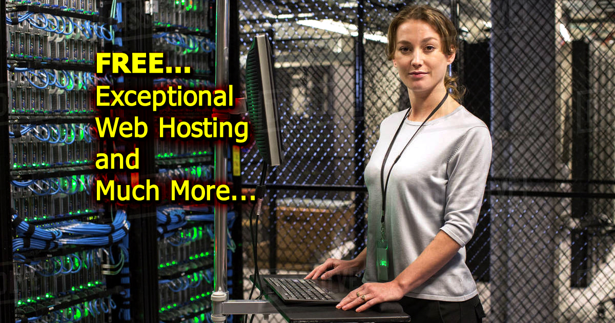 Exceptional Web Hosting and Much More...