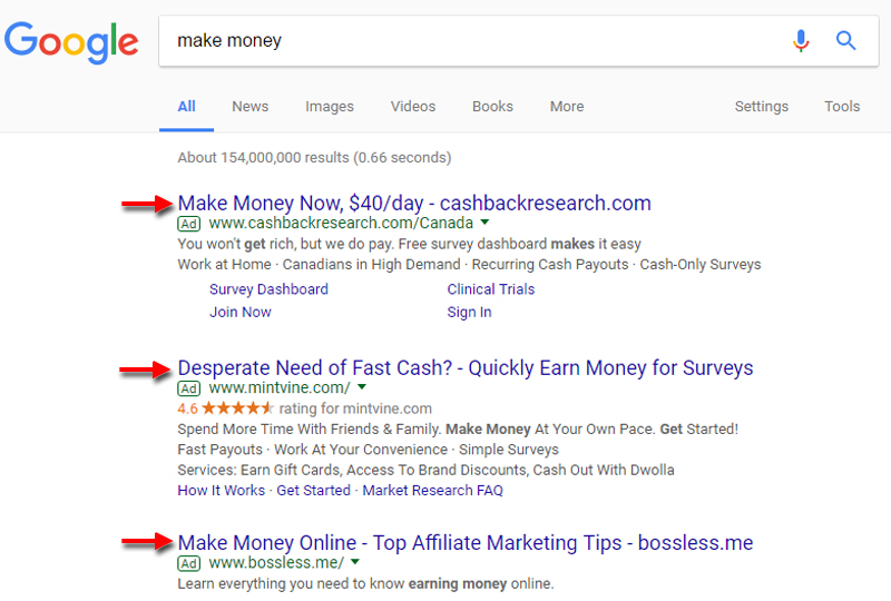 10 Ways to Make Money Online with Google