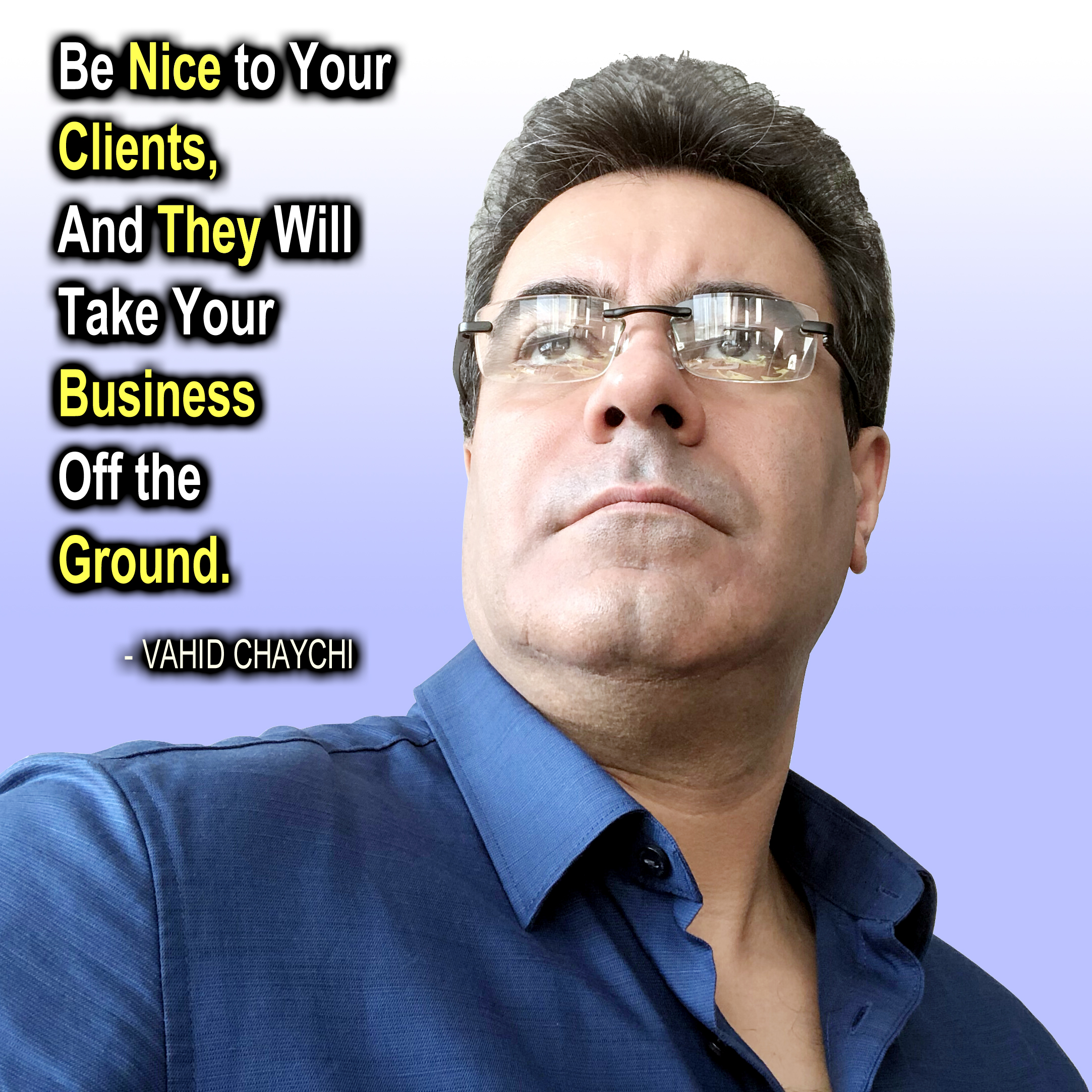 Be Nice to Your Clients...