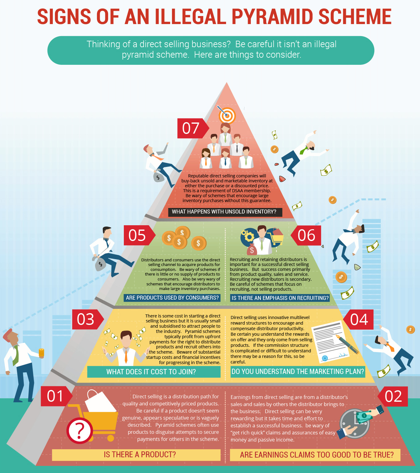 Are Pyramid Schemes Illegal?