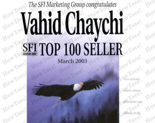 SFI Top Seller (March 2003)